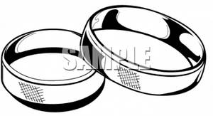 Wedding Ring Clipart Black And White   Clipart Panda   Free Clipart