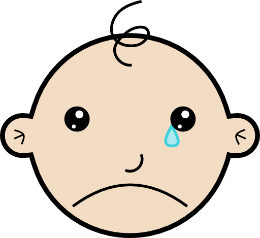 Whining Clipart Clipart Baby Crying 512x512 Efc2 Png
