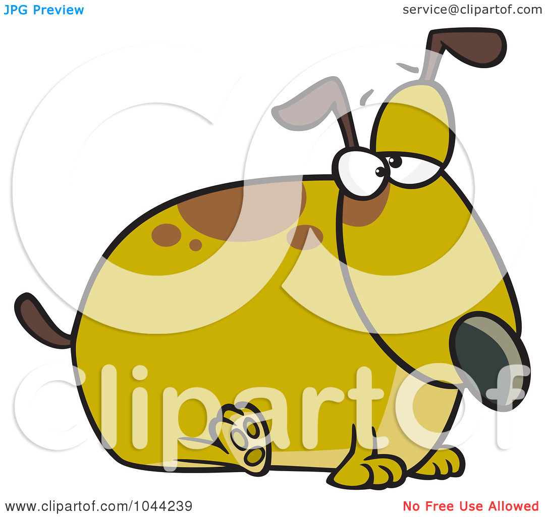 Whining Clipart Royalty Free Rf Clip Art Illustration Of A Cartoon Fat