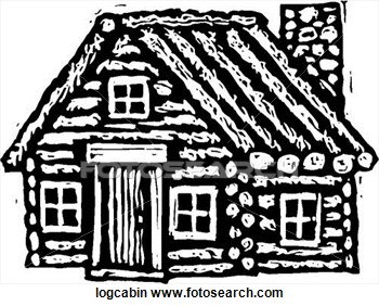 Clip Art Log Cabin Clipart clip art black and white log cabin clipart kid fotosearch search illustration posters