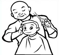 Did You Know Today A Barber Cuts Hair Barber S Work In A Barber Shop