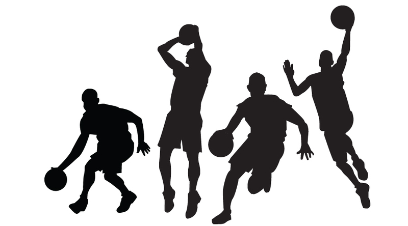Download Basketball Players Vectors For Free