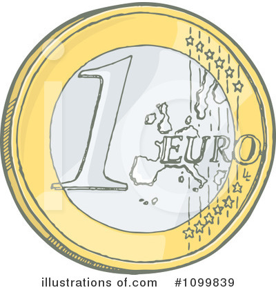 Euro Clipart  1099839 By Any Vector   Royalty Free  Rf  Stock