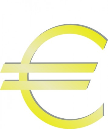 Euro Financial Symbol Clip Art Free Vector In Open Office Drawing Svg