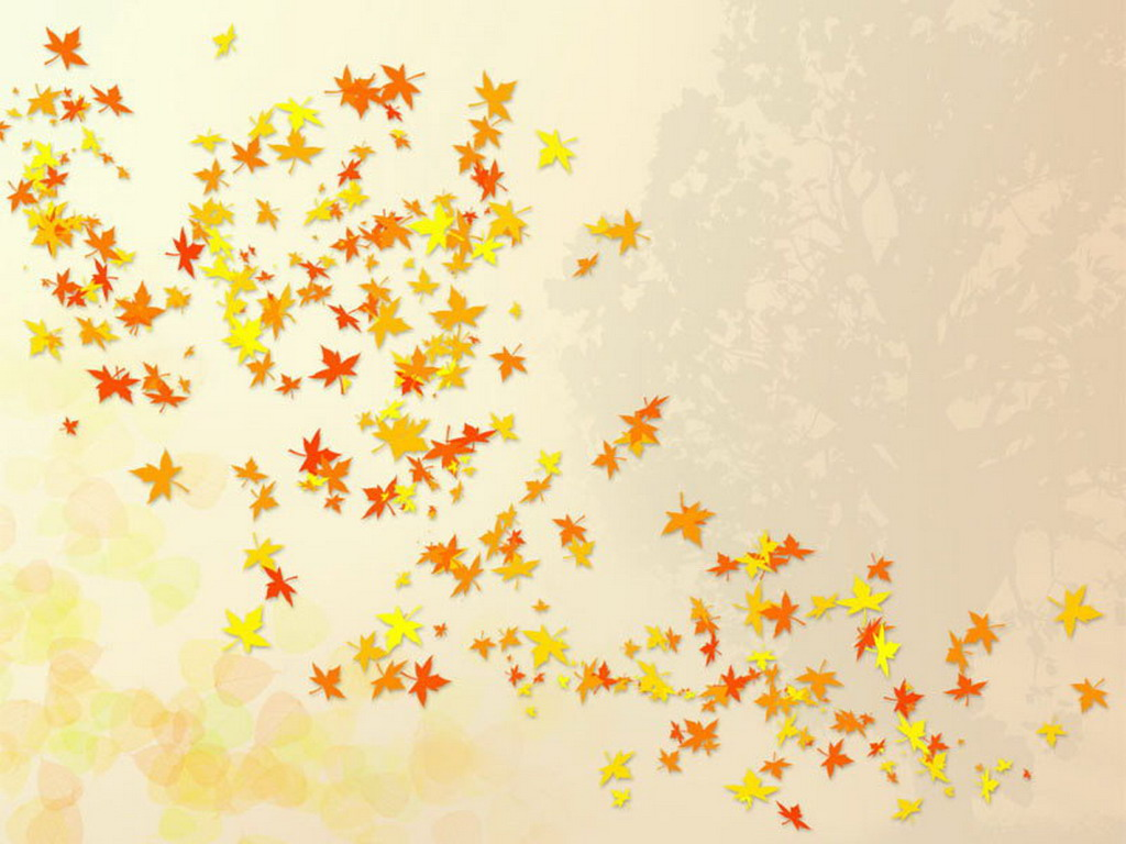 Falling Leaves Wallpaper   Cute Wallpapers