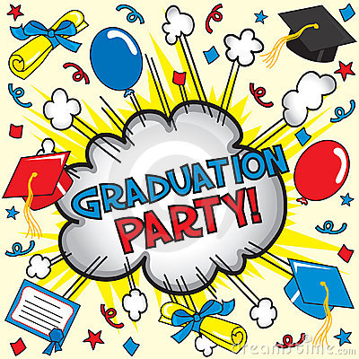 Graduation Party  Royalty Free Stock Photography   Image  9121597
