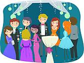 High School Prom Clipart And Illustration  15 High School Prom Clip