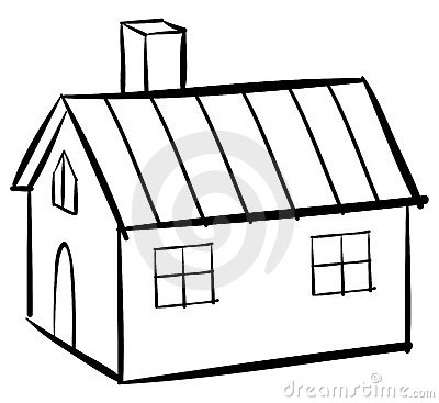 House Clipart Outline