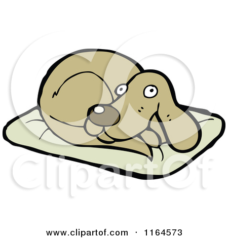 Royalty Free  Rf  Dog Bed Clipart   Illustrations  1