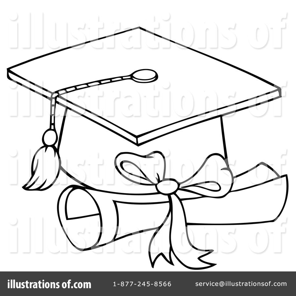 Royalty Free Rf Graduation Clipart Illustration By Hit Toon Stock