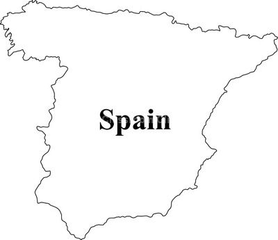 Spain Map Clip Art