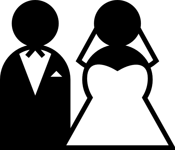 Wedding Sign Clip Art At Clker Com   Vector Clip Art Online Royalty