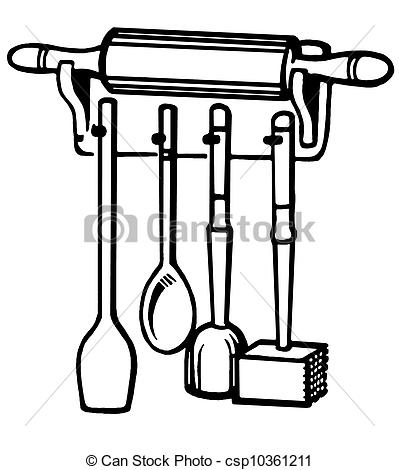 Woman Cooking Clipart Black And White   Clipart Panda   Free Clipart