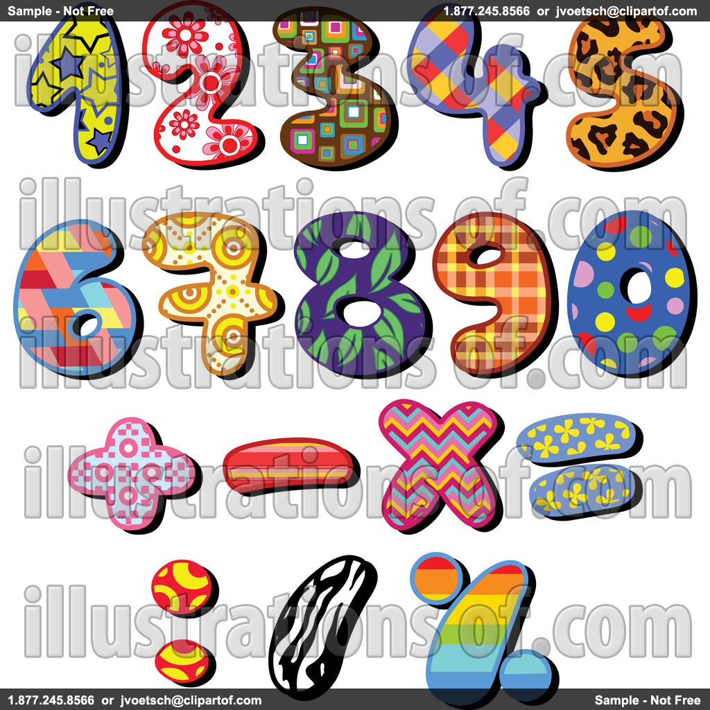 Clip Art Numbers 1-100 Clipart - Clipart Kid