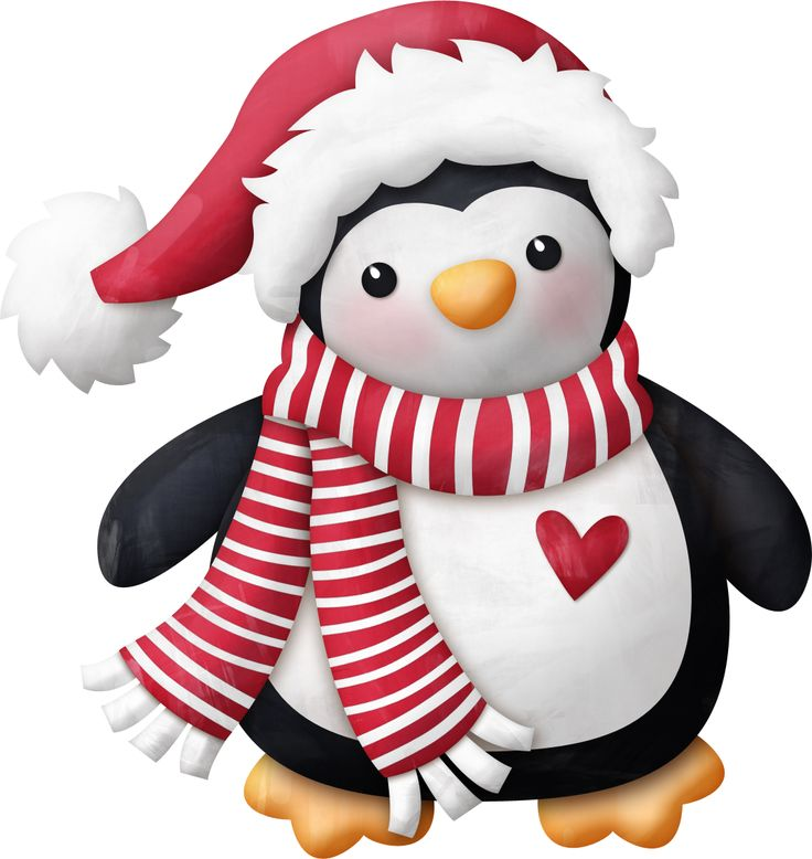 Christmas Penguin Clipart - Clipart Suggest