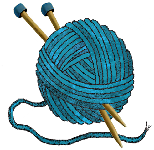 Image result for knitting clipart