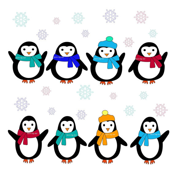 Christmas Penguin Clipart   Clipart Panda   Free Clipart Images