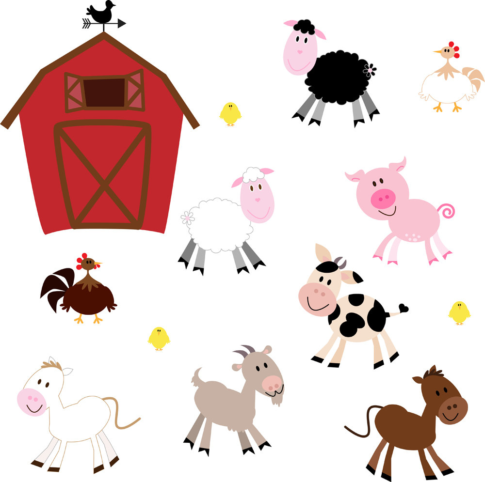 Clipart Farm Animals   Free Large Images