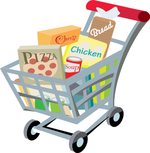 Buy Shopping Cart Clip Art