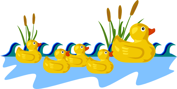Duck Pond Clip Art At Clker Com   Vector Clip Art Online Royalty Free