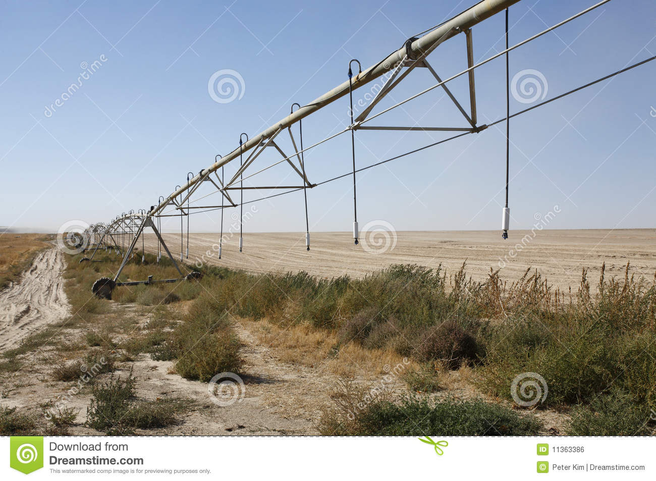 Farm Sprinklers Royalty Free Stock Image   Image  11363386