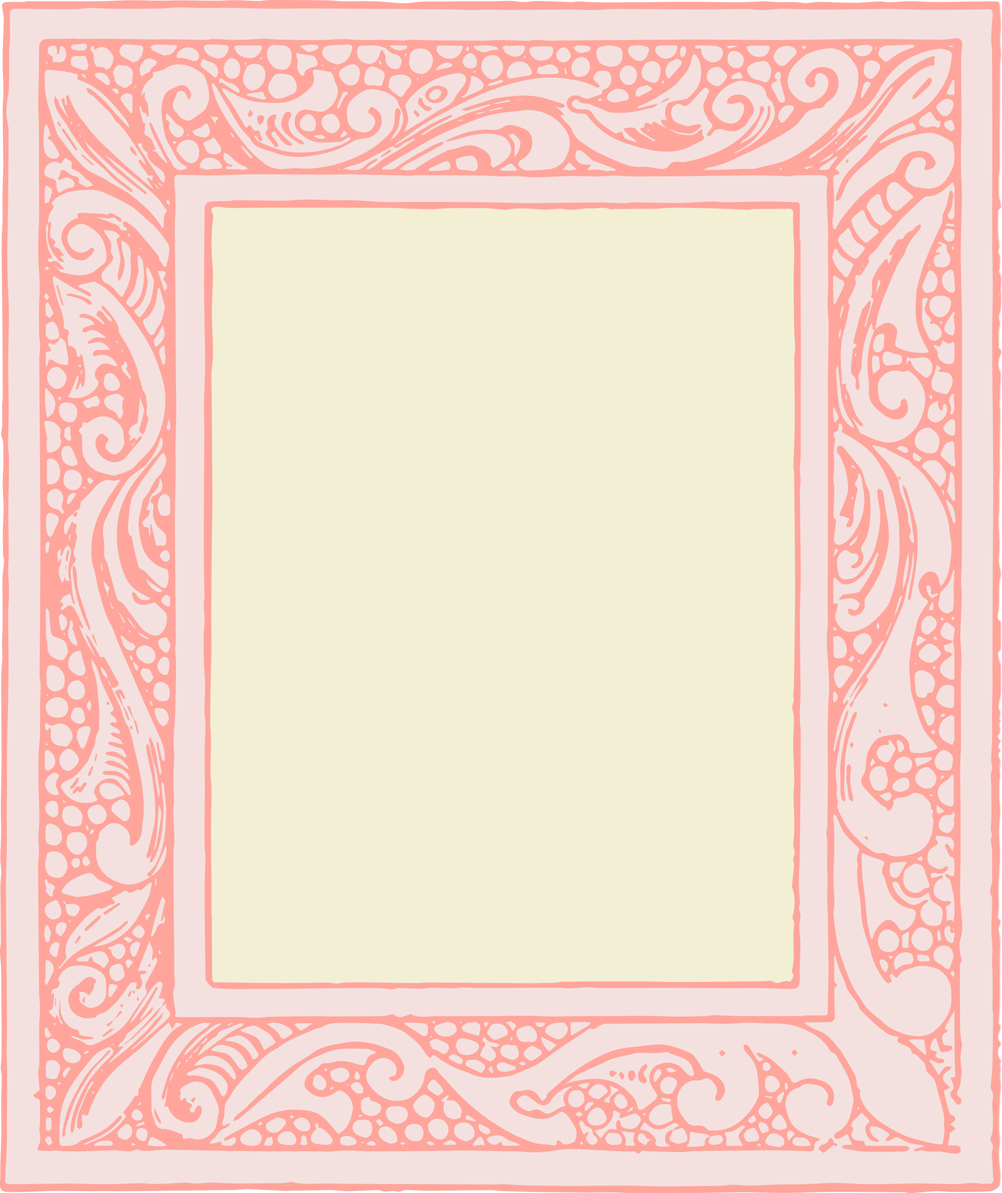 Free Vector Clipart   Vintage Frames   Oh So Nifty Vintage Graphics