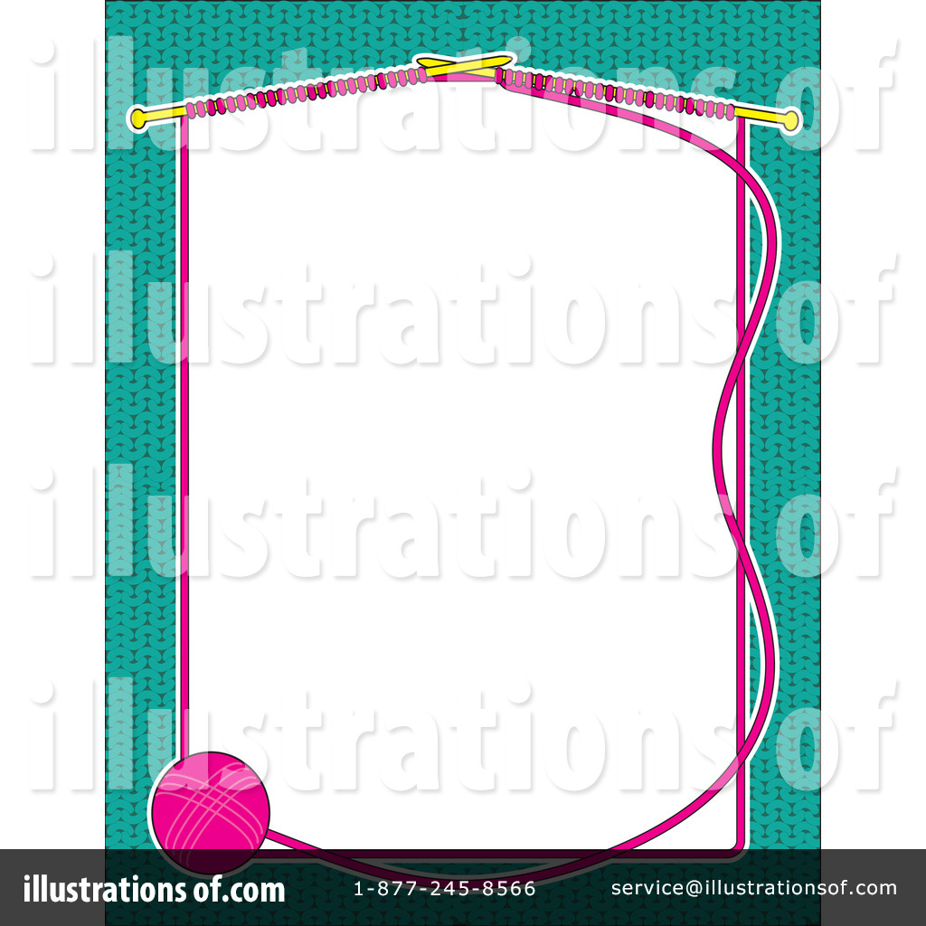 Knitting Clip Art Borders : Knitting borders clipart suggest