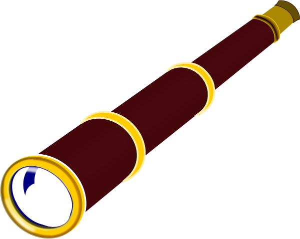 pirate telescope clipart - photo #5