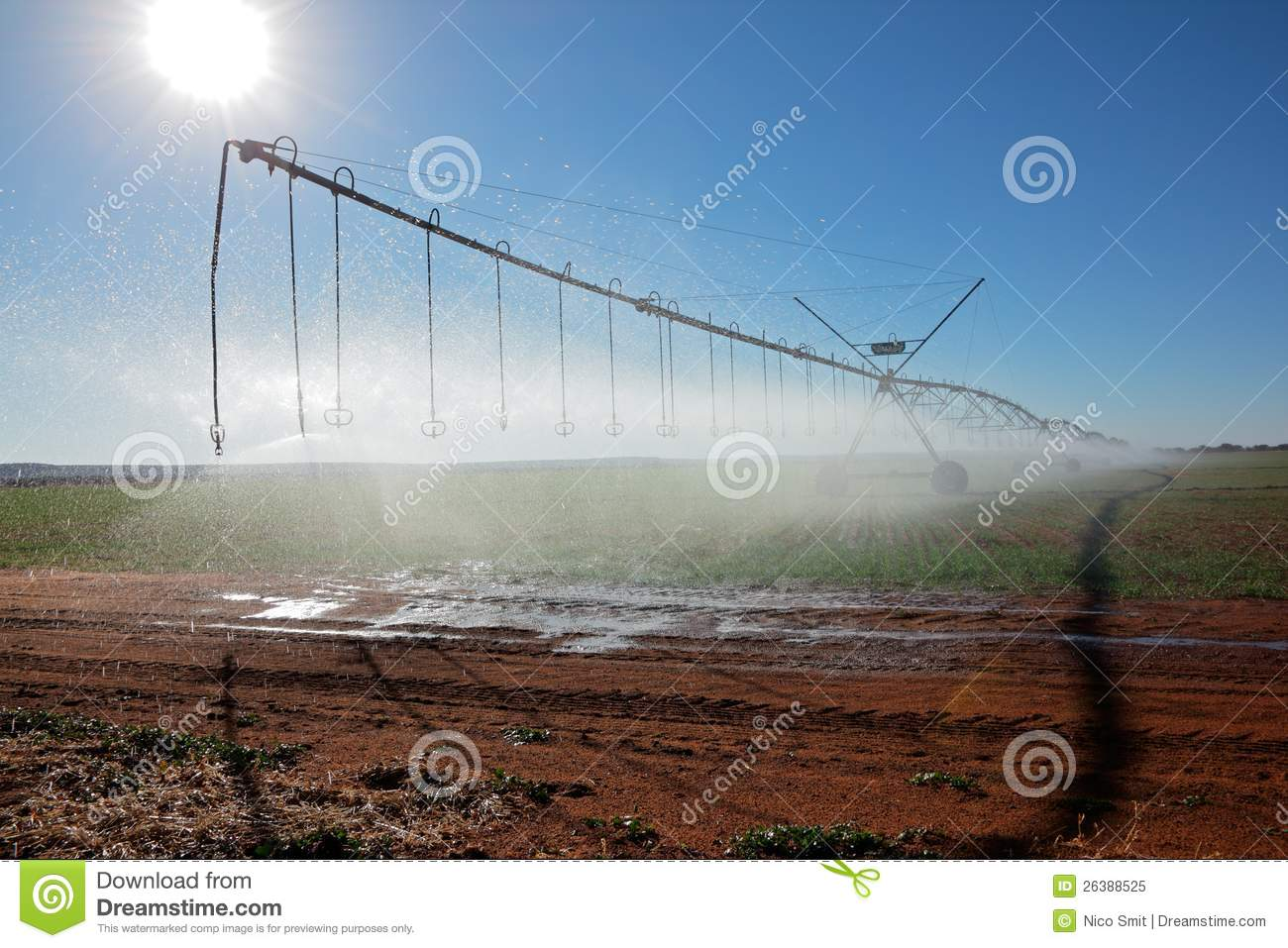 Pivot Irrigation Royalty Free Stock Photo   Image  26388525