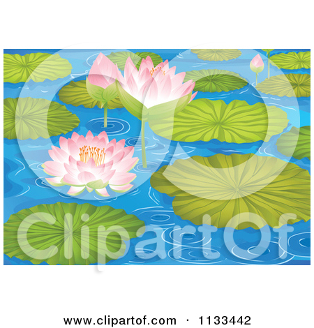 Royalty Free  Rf  Lily Pad Clipart Illustrations Vector Graphics  1