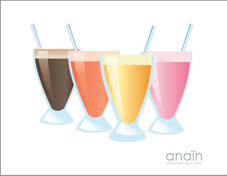 Smoothie Clip Art Food Drinks