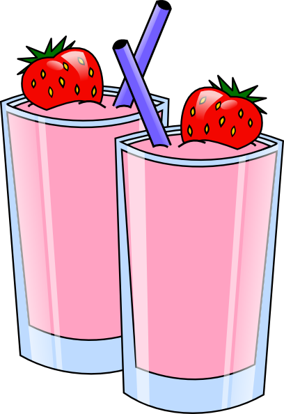Smoothie Drink Beverage Cups Clip Art At Clker Com   Vector Clip