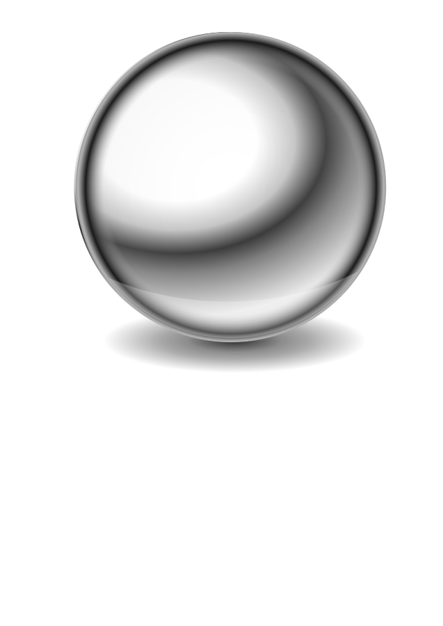 Sphere Black And White Clipart - Clipart Suggest