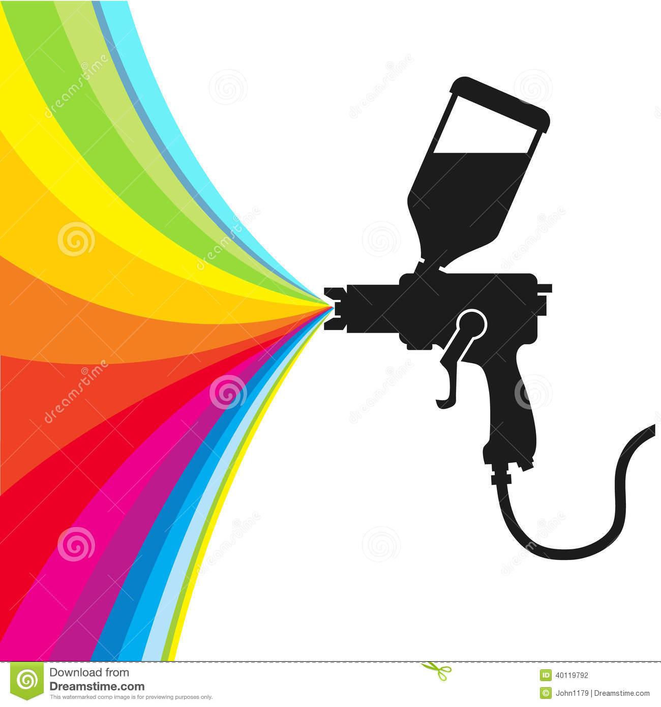 spray paint vector stock vector image 40119792. Black Bedroom Furniture Sets. Home Design Ideas