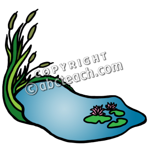 Water Pond Clipart Art Pond Water Clipart   Free Clip Art Images