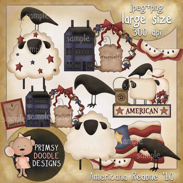 Back   Gallery For   Primitive Americana Clip Art Free