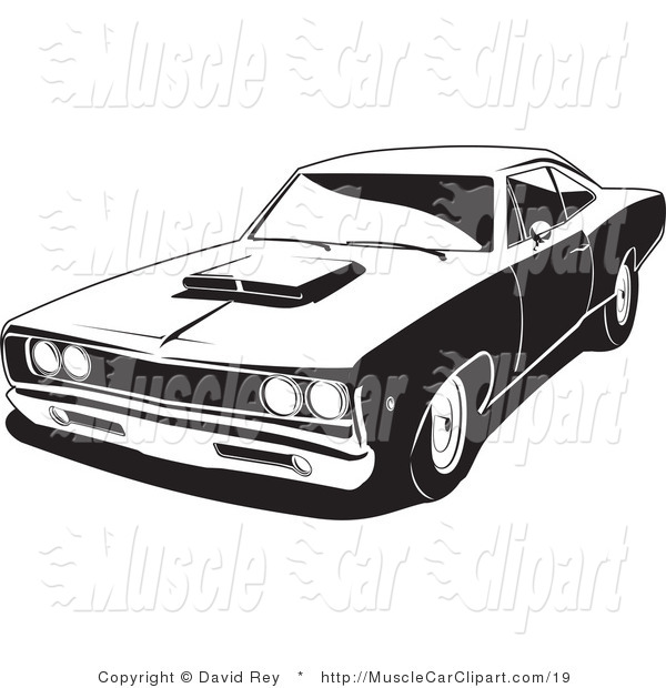 muscle car coloring sheets vehicle pictures