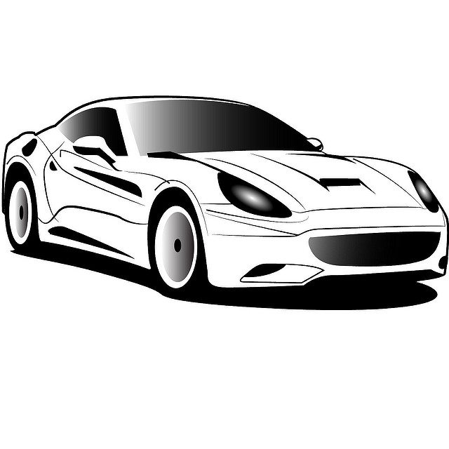 Black White Truck Vector Clipart And Illustrations Car Pictures