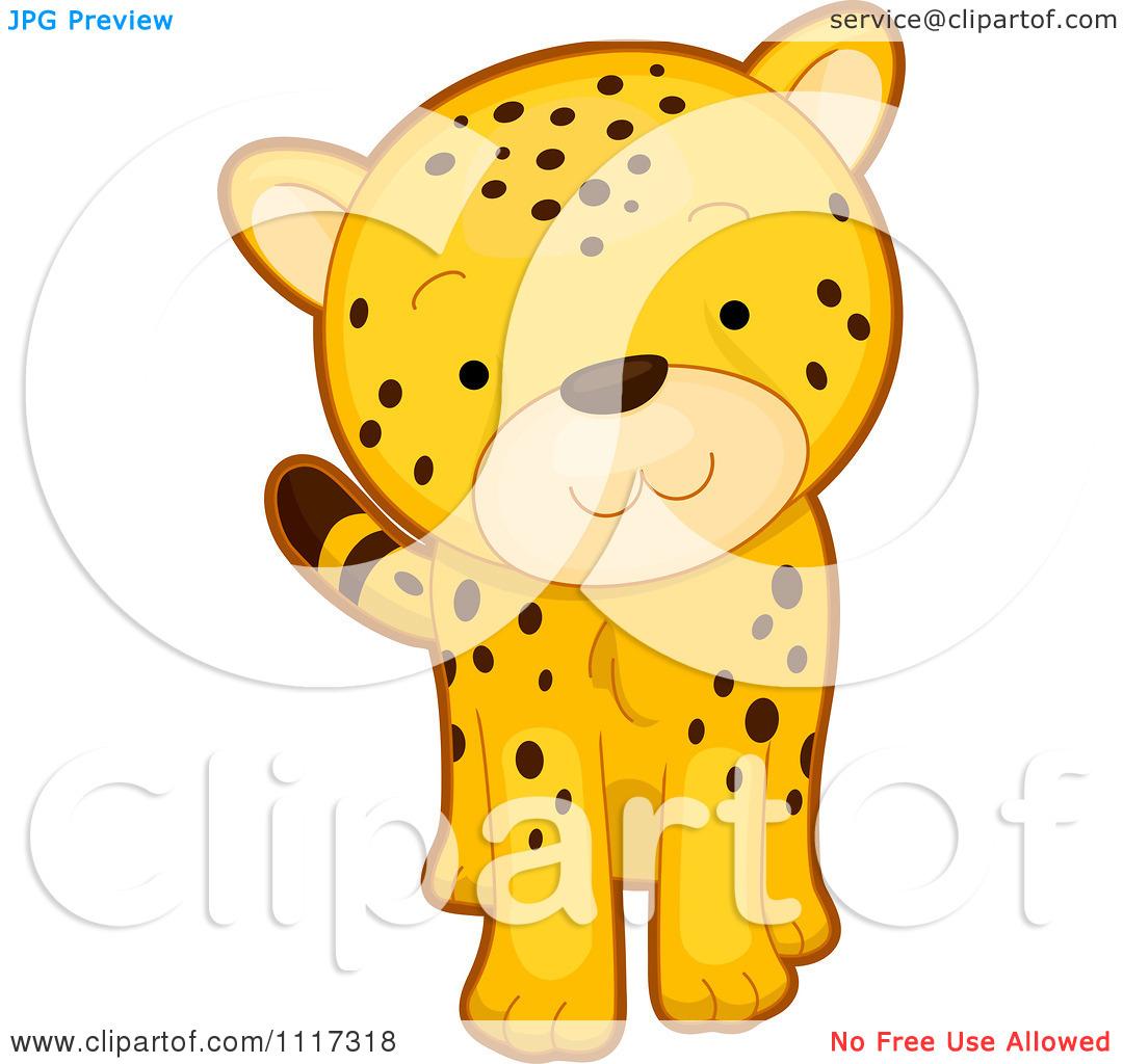 Cheetah Cartoon Clipart - Clipart Kid