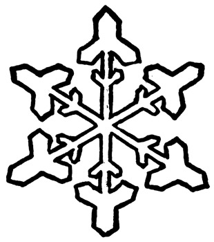 Clip Art Snowflake Clipart Black And White black snowflake clipart kid and white panda free images