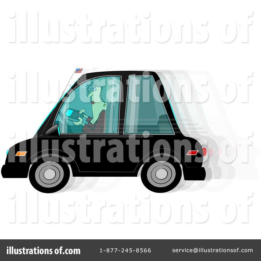 Driving Clipart  217254 By Djart   Royalty Free  Rf  Stock