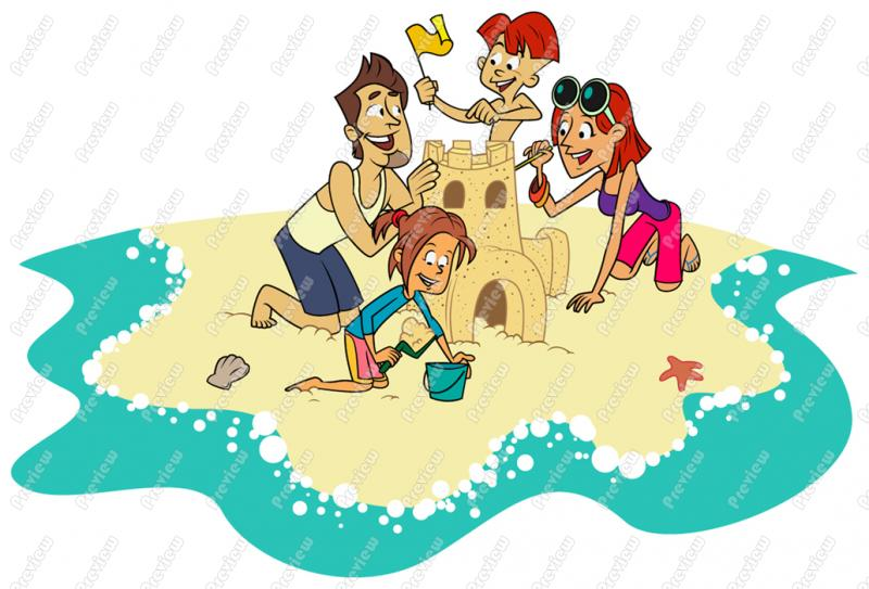 Clip Art Beach People Clipart - Clipart Suggest
