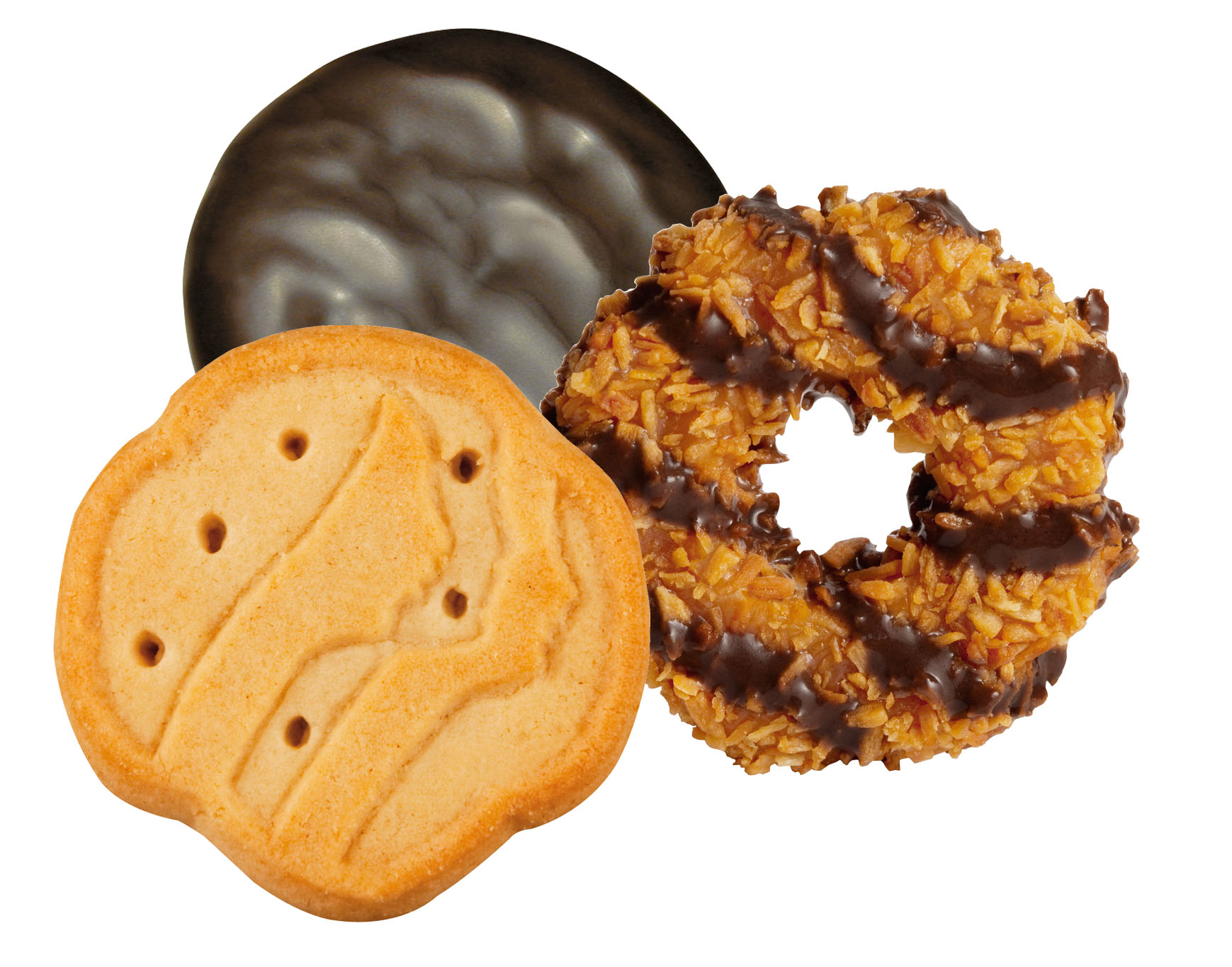 Girl Scout Cookies Arrive