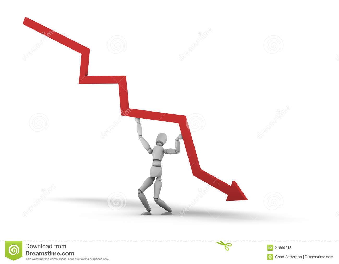 Man Holding Up Graph Royalty Free Stock Photo   Image  21869215