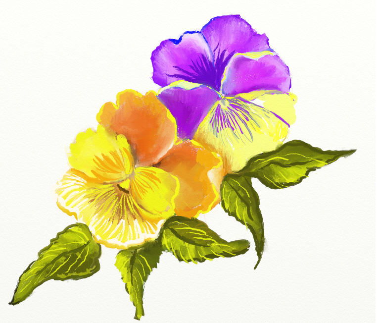 There Is 32 Google Flower Free Cliparts All Used For Free