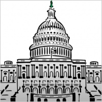 Us Capitol Building Clipart Style Clip Art 15439 Jpg