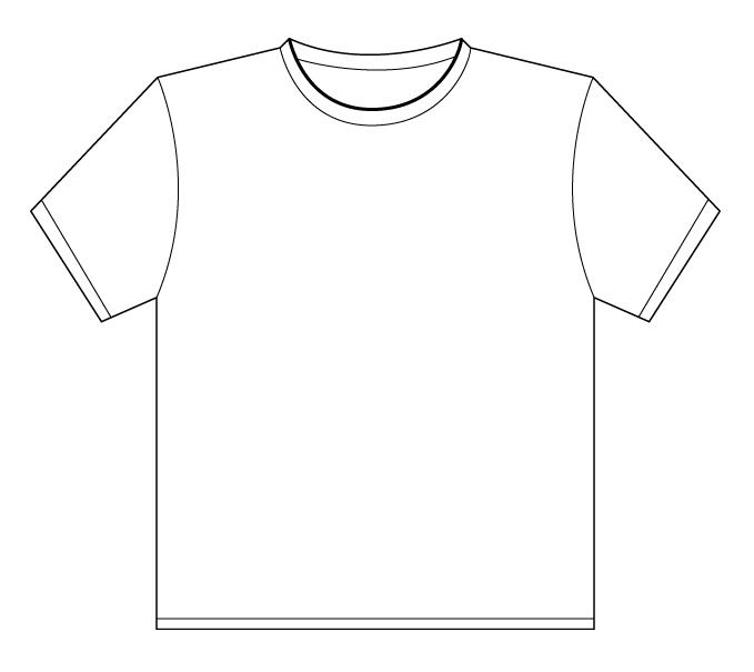 14 T Shirt Shape Template Free Cliparts That You Can Download To You