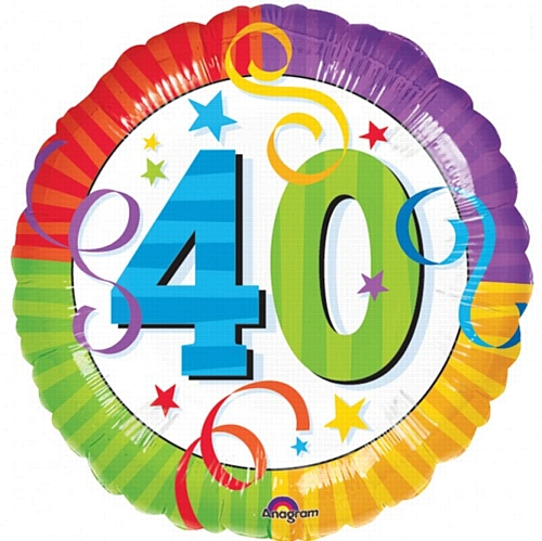 Man's 40th Birthday Clipart - Clipart Kid
