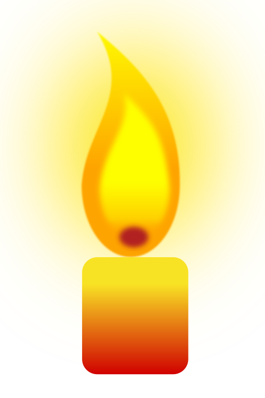 Burning Candle By Jilagan   Experimental Candle Flame Using Gaussian