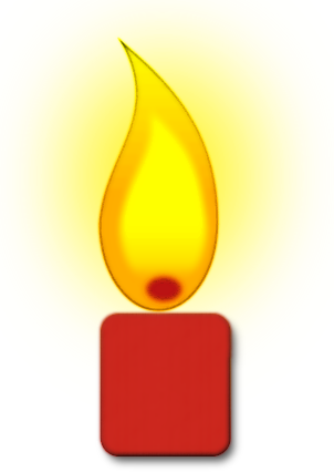 Burning Candle   Http   Www Wpclipart Com Household Candles Burning